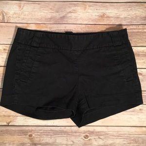 J Crew Black Chino Shorts